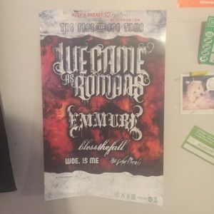 Other - We Came As Romans, Emmure & Blessthefall poster